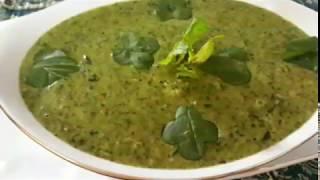 آموزش مقوی ترین سوپ ایرانی سوپ اسفناج توسط پروانه جوادی