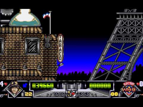Amiga Longplay [688] Dalek Attack (Doctor Who)