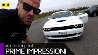 Dodge Challenger Hellcat 2019 | V8 SRT da 717 CV...super-ignoranti! 😍😍😍 [ENGLISH SUB]