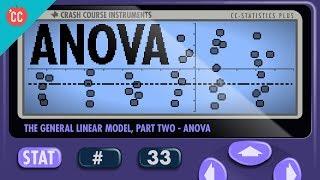 ANOVA: Crash Course Statistics #33