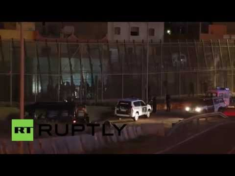 Spain: One hundred migrants attempt to storm Melilla border