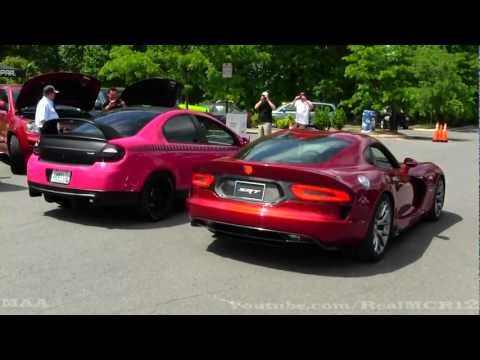 2013 SRT Viper GTS - Driving - Engine Sound - Rev !!