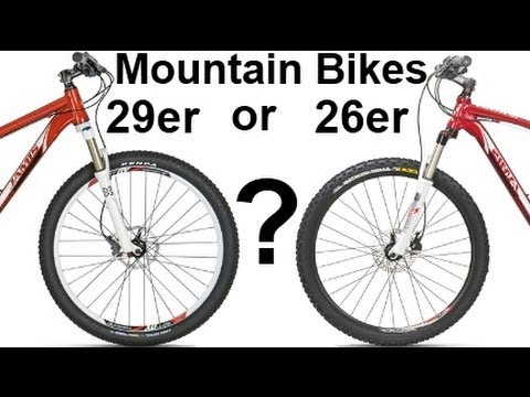 29 Vs 26 Mountain Bikes er or er First XC