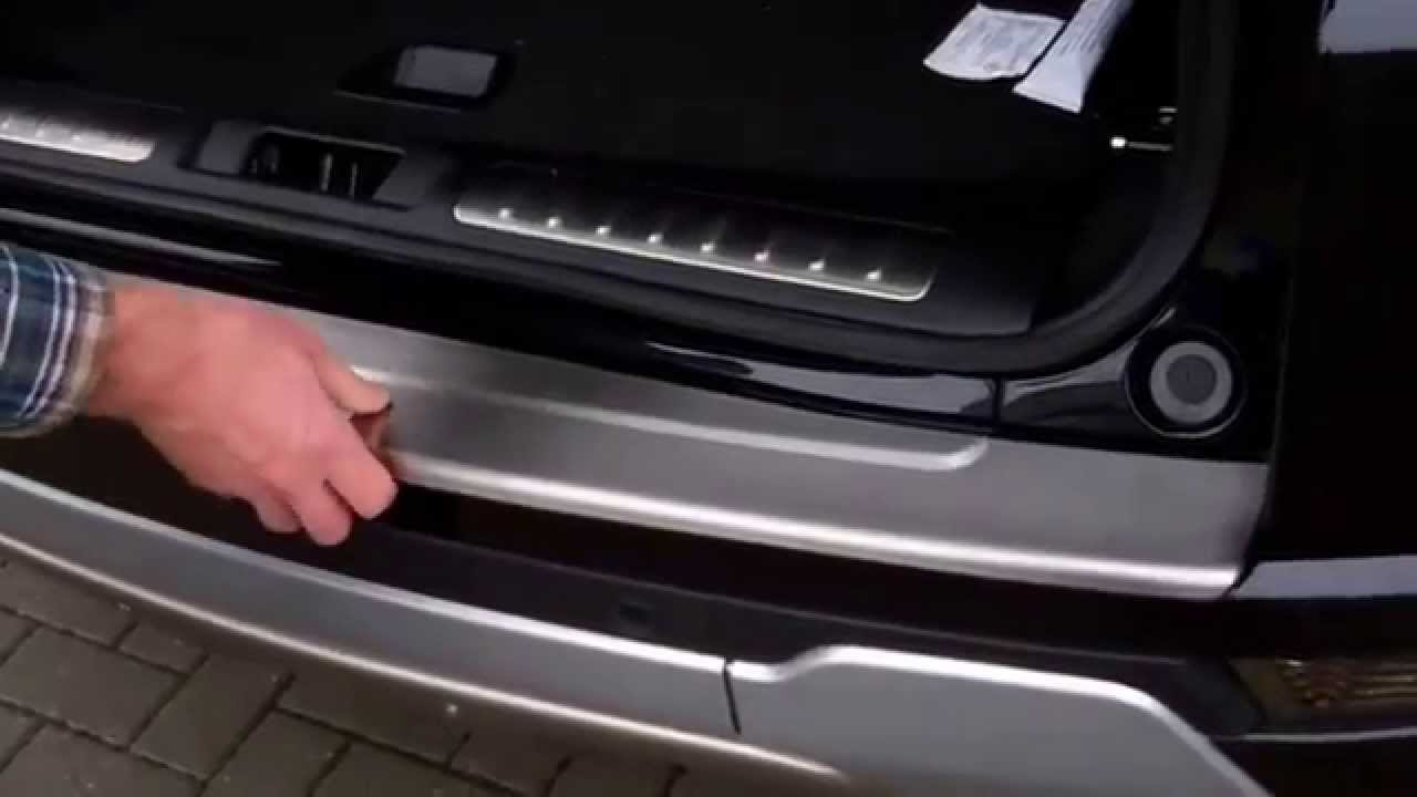How To Fit A Stainless Steel Rear Bumper Step Protector