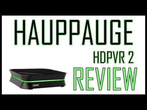 Hauppauge HD PVR 2 Video   Recorder/Capture Card   Review/Unboxing/Setup