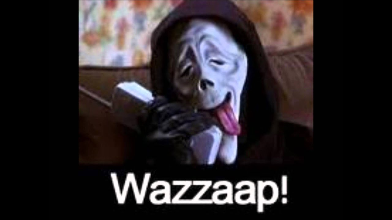 Scary Movie Meme Wazuup song  pictures