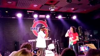 Michael King freestyle rap with Phil Nottingham (Marketing Festival 2013)