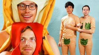 The Try Guys Try Cringey Couples Halloween Costumes