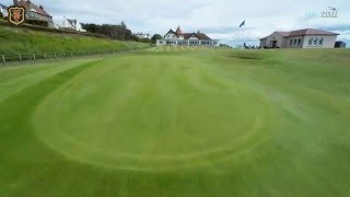 Lundin Golf Club - Hole 18 - FlyOver