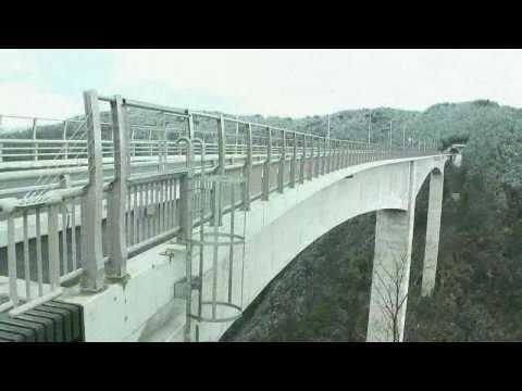 八百津町 ~日本最大級 新旅足橋(しんたびそこばし)~