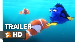 Video clip Finding Dory Official Trailer #1 (2016) - Ellen DeGeneres, Michael Sheen Animated Movie HD