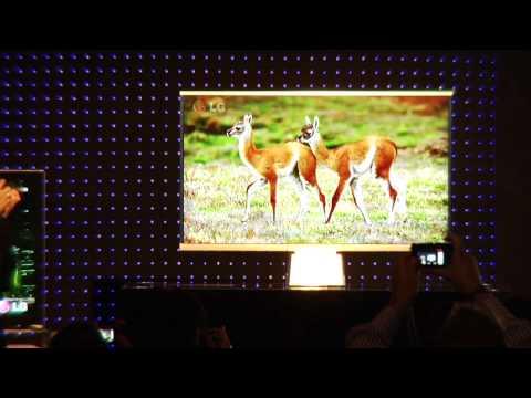 LG CES 2010: Ultra Thin 6.9mm LED TV