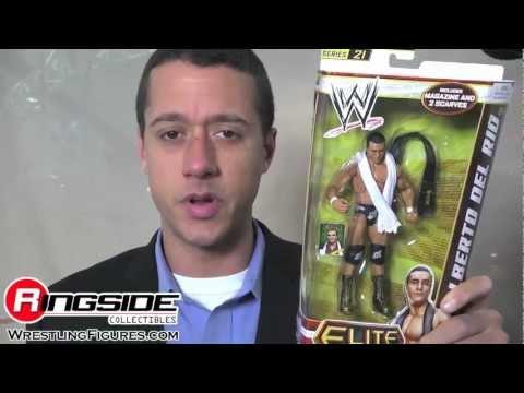 Alberto Del Rio WWE Elite Series 21 Mattel Toy Wrestling Action Figure - RSC Figure Insider