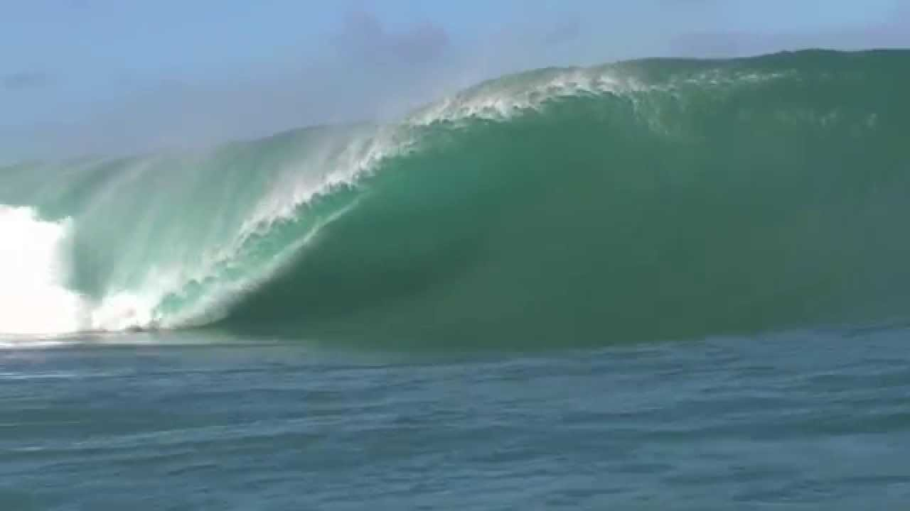 Teahupoo Trevor Sven Carlson, that was a close one