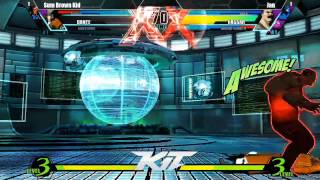 UMvC3 Sum Brown Kid vs Jan - KiT 2014