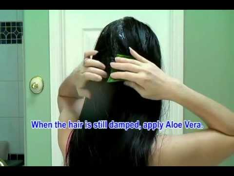 Aloe Vera for Shiny Healthy Beautiful Hair - Stop Hair Loss Promote Hair Growth