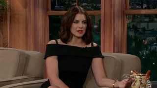 Lauren Cohan - Craig Ferguson 2014 10 02