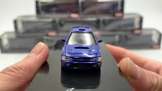 Hobby Japan 1:64 SUBARU IMPREZA WRX (GC8) STi Version Ⅱ Sport Blue(HJ641013SSBL) diecast model