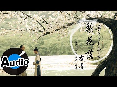 霍尊- 梨花落 (官方歌詞版) - 電視劇《寂寞空庭春欲晚》
