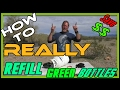 How To REALLY Refill Little Green Propane Bottles For Camping mp3