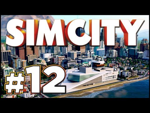 SimCity: Ep 12 - Casinos! Sci-Fi Casino & The Dutch Windmill!