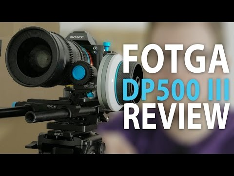 incredible Fotga DP500 III Follow Focus with great accessories! REVIEW