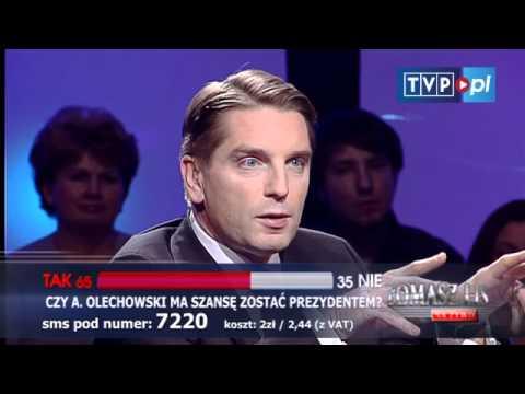 Tomasz Lis na żywo: Andrzej Olechowski oraz Kazimiera Szczuka i Stefan Niesiołowski