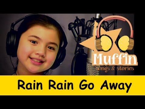 Muffin Songs - Rain Rain Go Away | Nursery Rhymes & Children Songs With Lyrics video