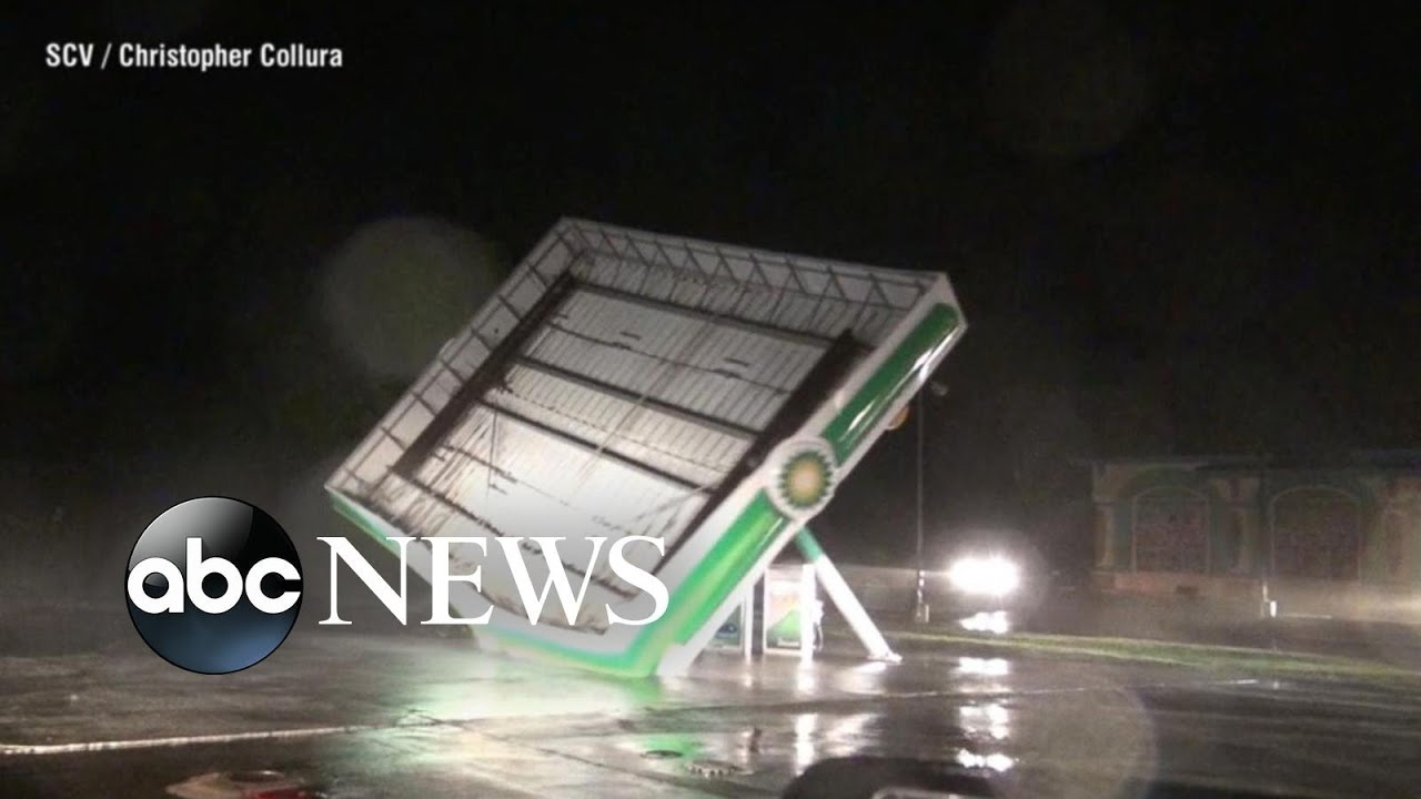 Hurricane Florence continues to pound the Carolina coast