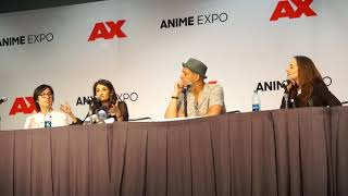 Overwatch Voice Actor Panel at Anime Expo 2018