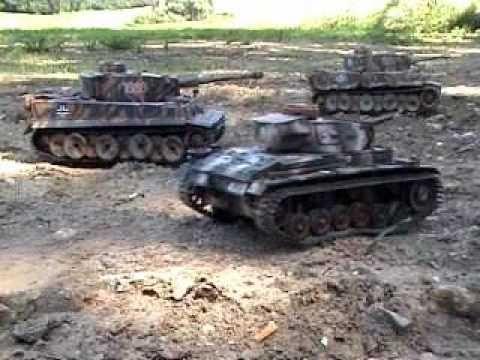 Heng Long Tiger&Toro T34/76 im Gefecht