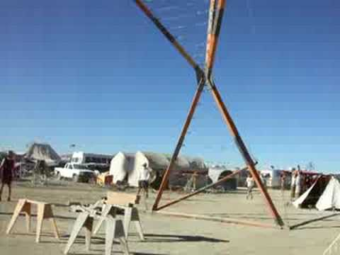 Homeslice Erection - Burning Man 2008 Video