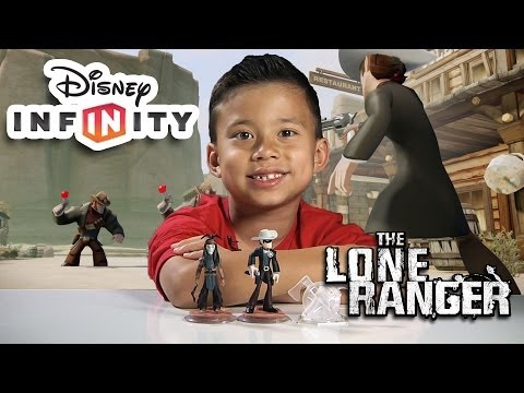Disney Infinity - LONE RANGER Play Set - Review, Unboxing and GAMEPLAY PART 1