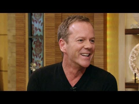 Kiefer Sutherland on Live! With Kelly and Michael 5/1/14 (HD)