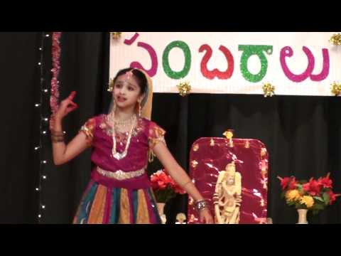 Sahiti Donthula - Mukunda Mukunda dance1 - CTA Deepavali 2010...