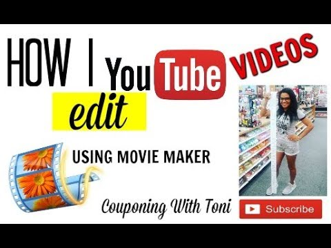 HOW TO EDIT YOUTUBE VIDEOS WITH MOVIE MAKER 2017 | EASY TUTORIAL