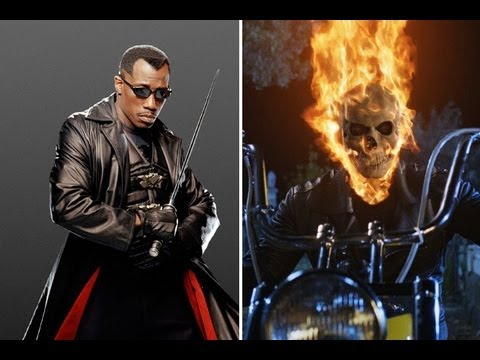 Marvel Reacquires The Rights To GHOST RIDER & BLADE - AMC Movie News