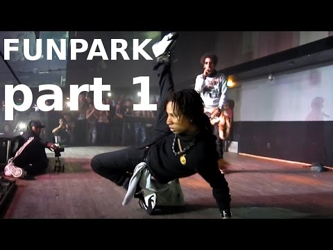 Les Twins X Majid  Funpark Hannover Part 1 video