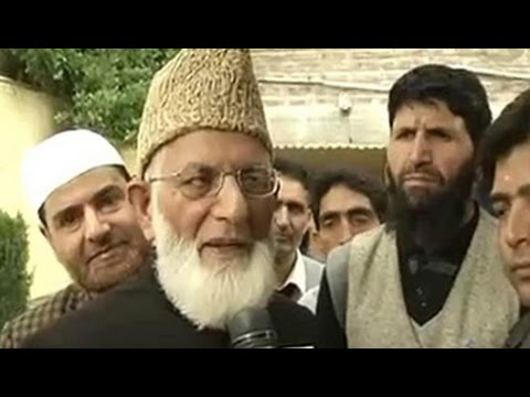 'Not an Indian' says Kashmiri separatist Syed Ali Shah Geelani as he applies for passport