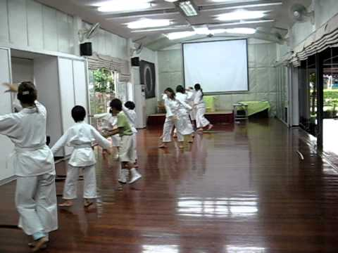 Aikido Lesson at Plearnpattana School  Bangkok  Thailand 02
