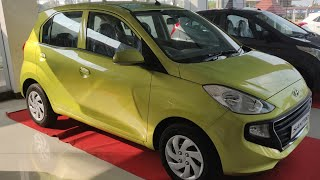 2018 Hyundai Santro Diana Green Color - First Look !!