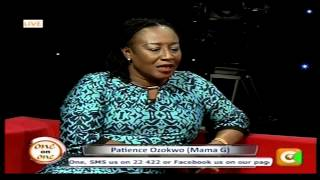 Patience Ozokwor (MAMA G) Interview on Kenya Citizen TV