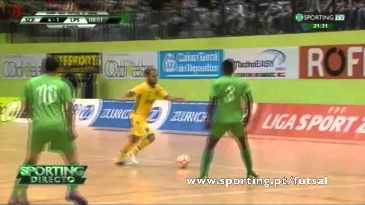 Futsal :: 05J :: Sporting - 7 x Leões Porto Salvo - 1 de 2014/2015