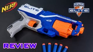 [REVIEW] Nerf Elite Disruptor Unboxing, Review, & Firing Test