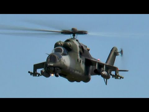 Science Model Electric >> Giant Rc Mi-24 Hind - YouTube