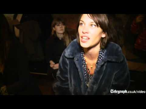 Alexa Chung on vintage clothes