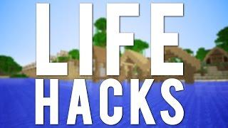 Top 10 More Minecraft Life Hacks!