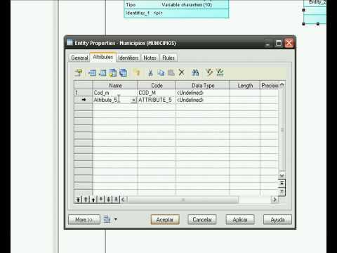 Tutorial Power Designer: como crear modelos de datos y codigo para BBDD