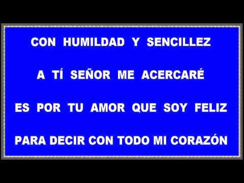 Христианские песни - Con humildad y sencillez