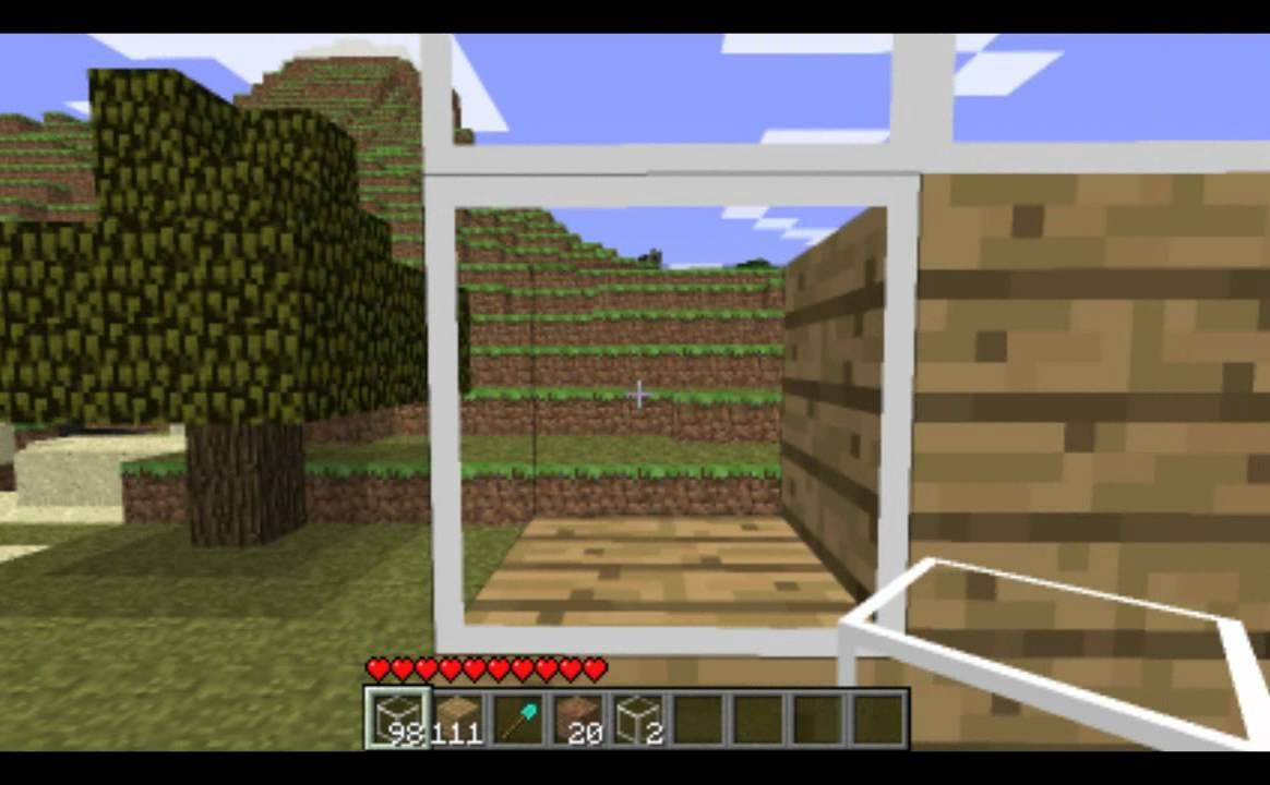 Texture Pack Clear Glass